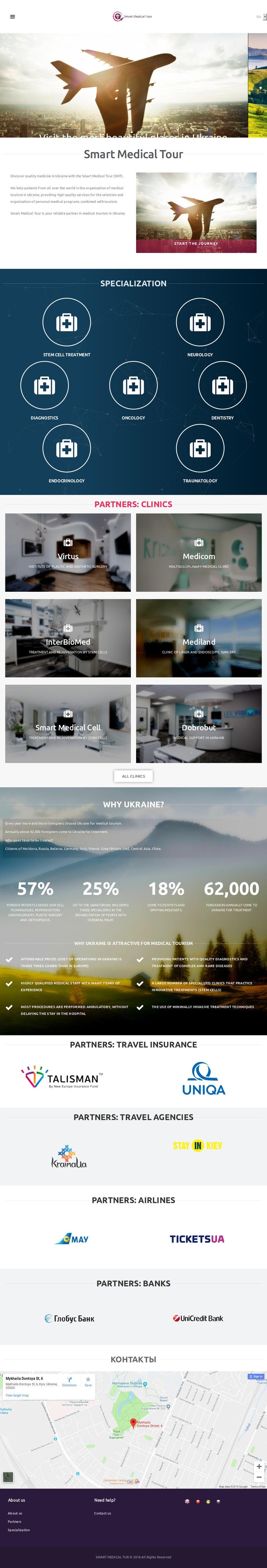 Corporate Website SMTOUR