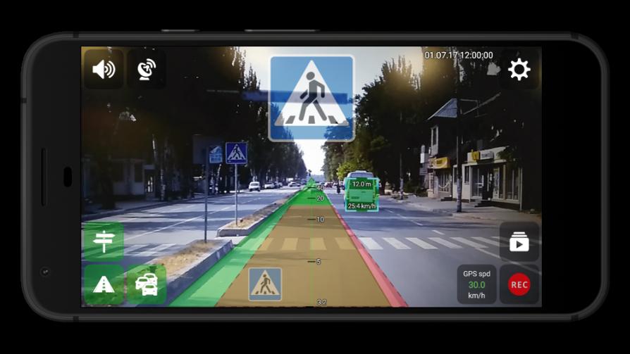 UGV Driver assistant App